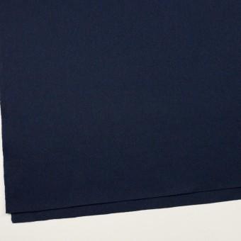 ウール×無地(ミッドナイトブルー)×フラノ(フランネル) サムネイル2