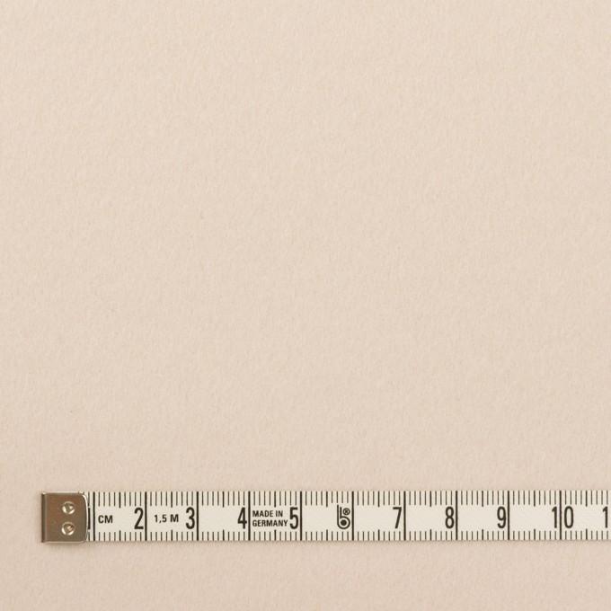 ウール&アンゴラ×無地(ミルキーピンク)×フラノ(フランネル) イメージ4