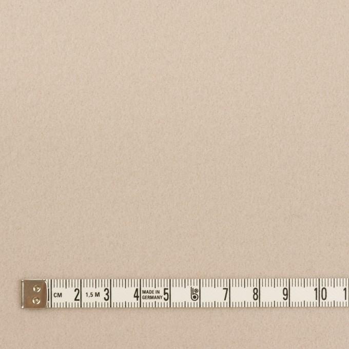 ウール×無地(オイスター)×フラノ(フランネル) イメージ4