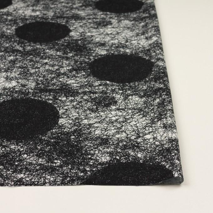 コットン&レーヨン×ペイント(ブルーブラック)×サージ イメージ3