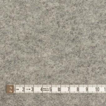 ウール&ナイロン×無地(グレー)×圧縮ループニット サムネイル4