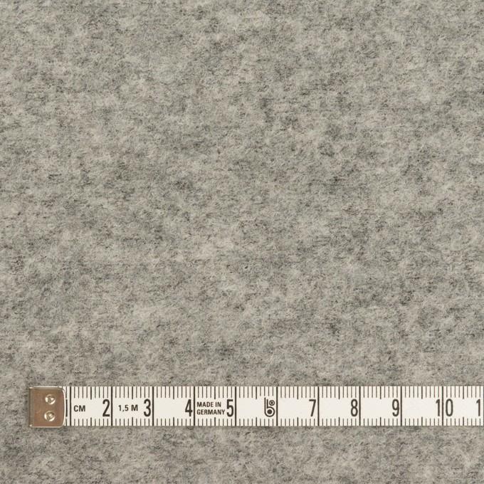 ウール&ナイロン×無地(グレー)×圧縮ループニット イメージ4