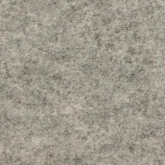 ウール&ナイロン×無地(グレー)×圧縮ループニット
