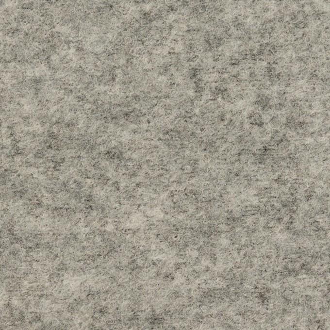 ウール&ナイロン×無地(グレー)×圧縮ループニット イメージ1