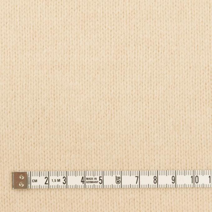 ウール×無地(エクリュ)×天竺ニット イメージ4
