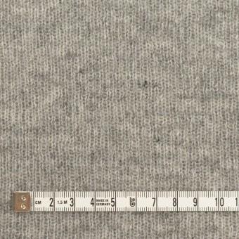 コットン&ウール混×無地(グレー)×Wニット サムネイル4