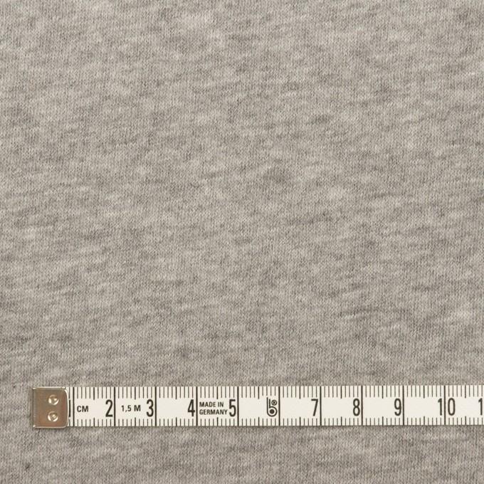 コットン&ウール混×無地(グレー)×Wニット イメージ6