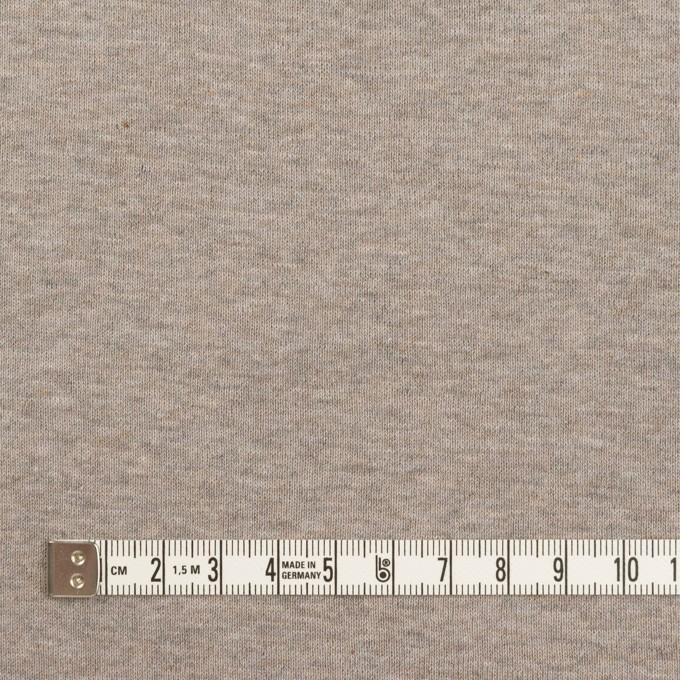 コットン×無地(オートミール)×フライスニット_全3色 イメージ4