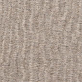 コットン×無地(オートミール)×フライスニット_全3色 サムネイル1