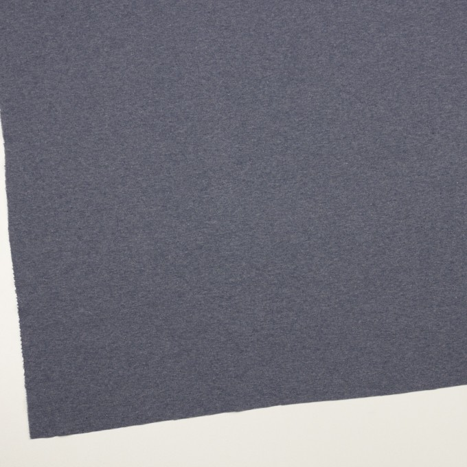 コットン×無地(アッシュネイビー)×フライスニット_全3色 イメージ2