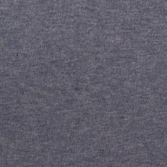 コットン×無地(アッシュネイビー)×フライスニット_全3色 サムネイル1