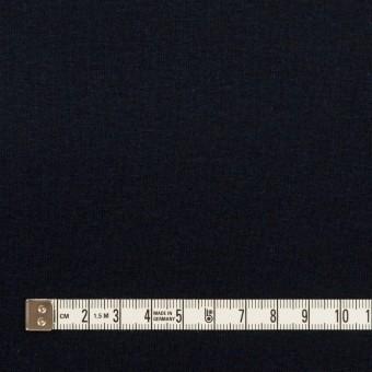 コットン×無地(ダークネイビー)×フライスニット サムネイル4