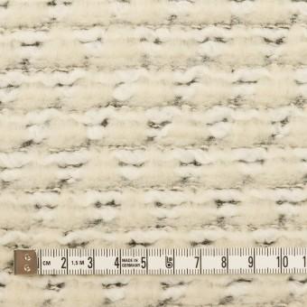 アクリル&ポリアミド混×ミックス(エクリュ)×ジャガードニット_イタリア製 サムネイル4