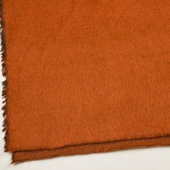 ポリエステル&アクリル混×無地(オレンジ)×フリースニット_全3色_イタリア製 サムネイル2