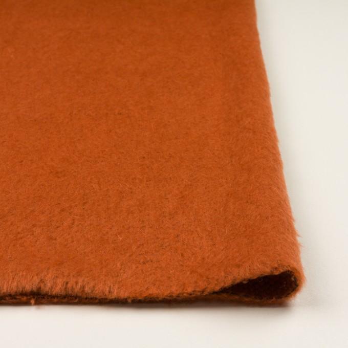 ポリエステル&アクリル混×無地(オレンジ)×フリースニット_全3色_イタリア製 イメージ3