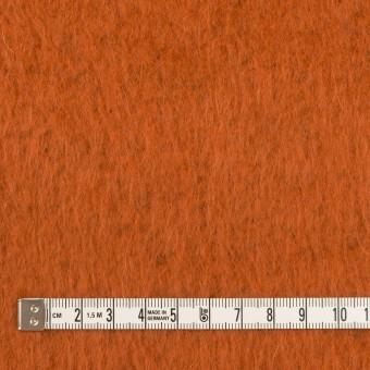 ポリエステル&アクリル混×無地(オレンジ)×フリースニット_全3色_イタリア製 サムネイル4