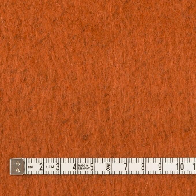 ポリエステル&アクリル混×無地(オレンジ)×フリースニット_全3色_イタリア製 イメージ4