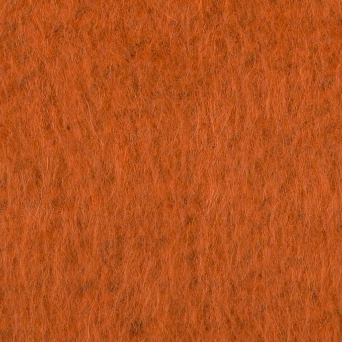 ポリエステル&アクリル混×無地(オレンジ)×フリースニット_全3色_イタリア製 イメージ1