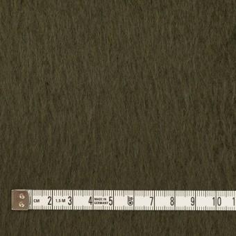 ポリエステル&アクリル混×無地(カーキグリーン)×フリースニット_全3色_イタリア製 サムネイル4