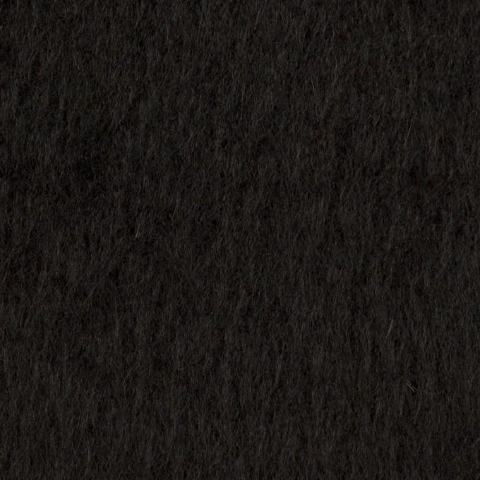 ポリエステル&アクリル混×無地(ブラック)×フリースニット_全3色_イタリア製 イメージ1