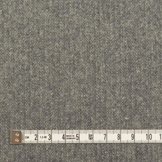 コットン×無地(グレー)×ヘリンボーン イメージ4