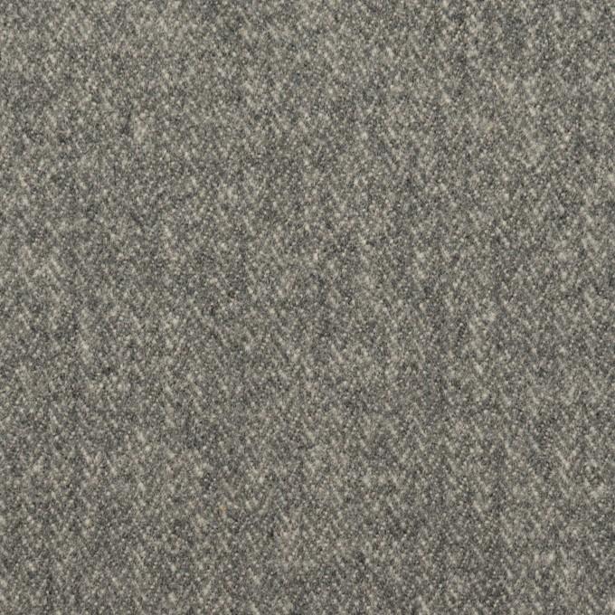 コットン×無地(グレー)×ヘリンボーン イメージ1