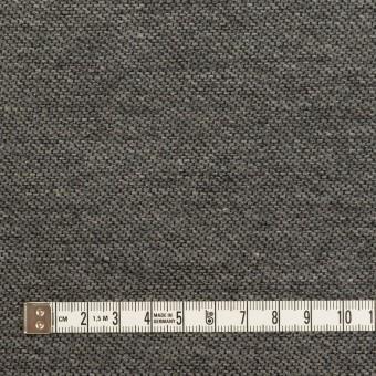 コットン&ウール混×無地(グレー)×かわり織&ヘリンボーン_全2色 サムネイル4