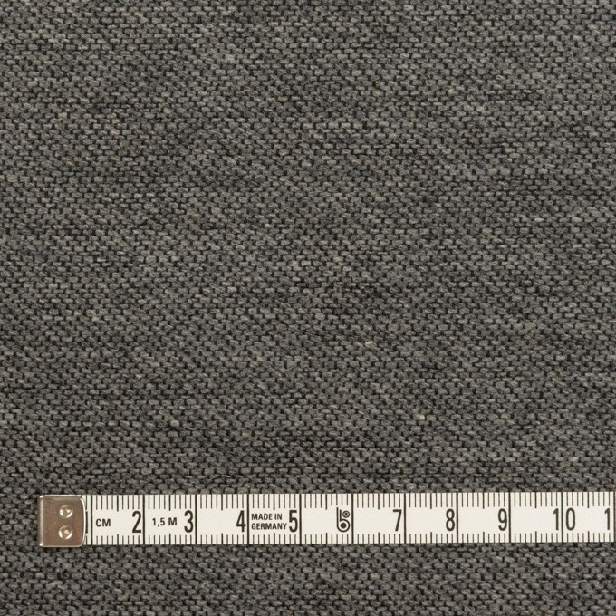コットン&ウール混×無地(グレー)×かわり織&ヘリンボーン_全2色 イメージ4