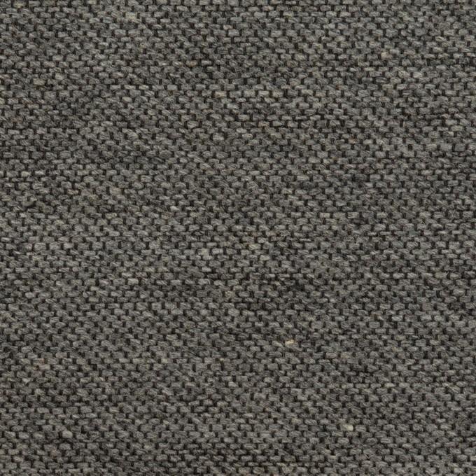コットン&ウール混×無地(グレー)×かわり織&ヘリンボーン_全2色 イメージ1