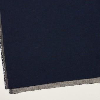 コットン&ウール混×無地(ネイビー)×かわり織&ヘリンボーン_全2色 サムネイル2