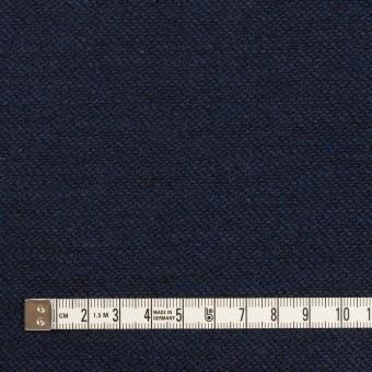 コットン&ウール混×無地(ネイビー)×かわり織&ヘリンボーン_全2色 サムネイル4