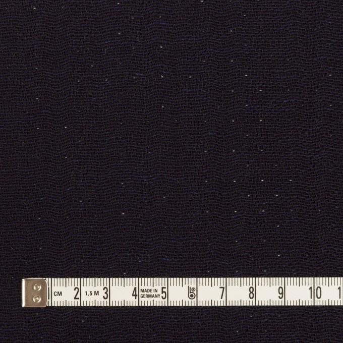 コットン×無地(インディゴ)×ガーゼ&ヘリンボーン イメージ4