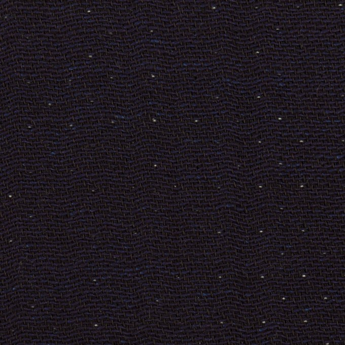 コットン×無地(インディゴ)×ガーゼ&ヘリンボーン イメージ1