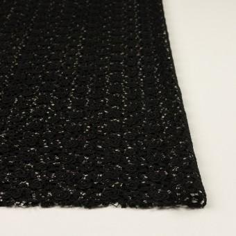 コットン×フラワー(ブラック)×ケミカルレース サムネイル3
