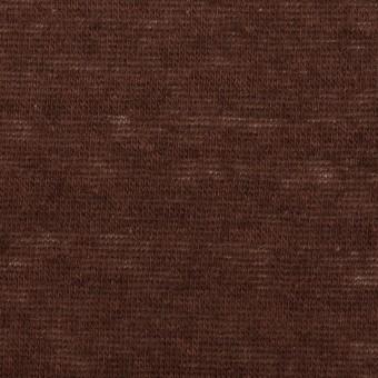モダール&ウール×無地(ココア)×天竺ニット_全2色