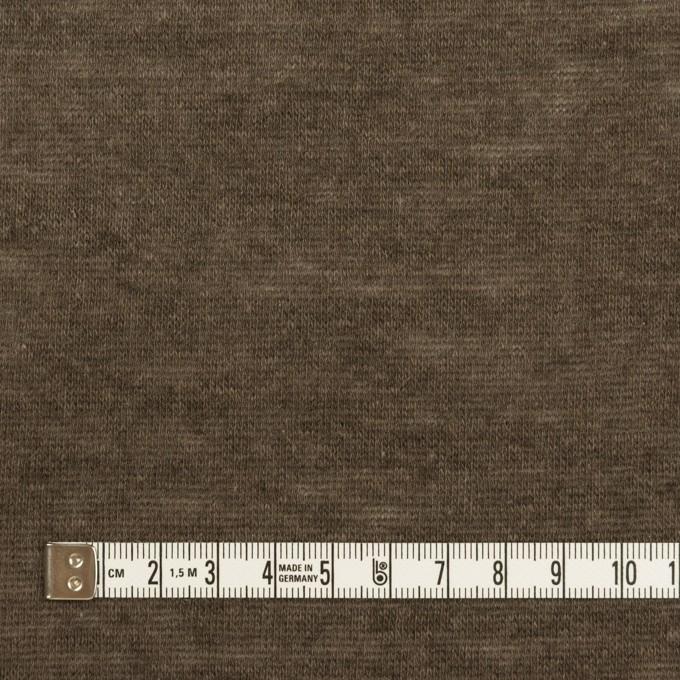 モダール&ウール×無地(アッシュブラウン)×天竺ニット_全2色 イメージ4