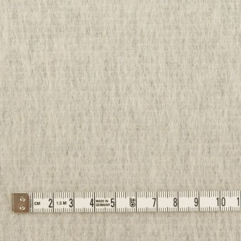 ウール&モヘア混×無地(シルバーグレー)×シャギー サムネイル4