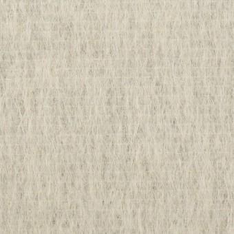 ウール&モヘア混×無地(シルバーグレー)×シャギー