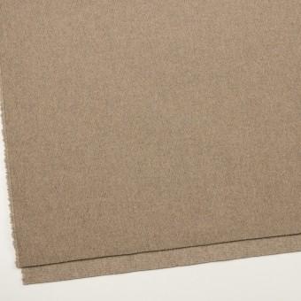 ウール&ナイロン×無地(ビスケット)×二重織_イタリア製 サムネイル2