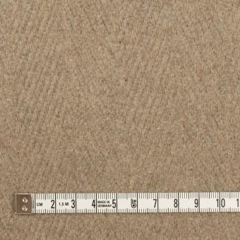 ウール&ナイロン×無地(ビスケット)×二重織_イタリア製 サムネイル4