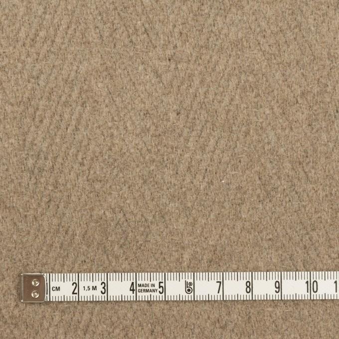 ウール&ナイロン×無地(ビスケット)×二重織_イタリア製 イメージ4