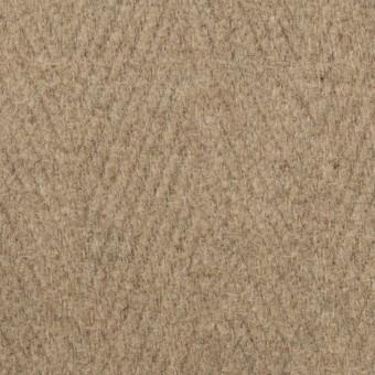 ウール&ナイロン×無地(ビスケット)×二重織_イタリア製