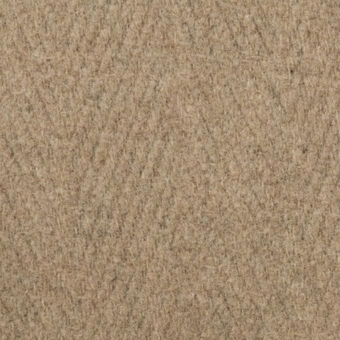 ウール&ナイロン×無地(ビスケット)×二重織_イタリア製 イメージ1