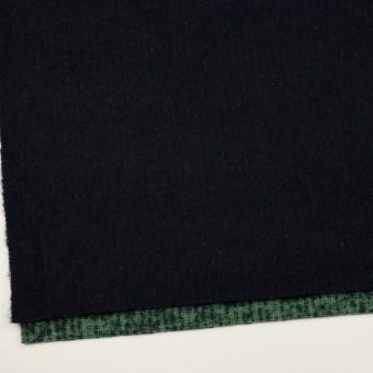 ウール×無地(ダークネイビー)×二重織 サムネイル2