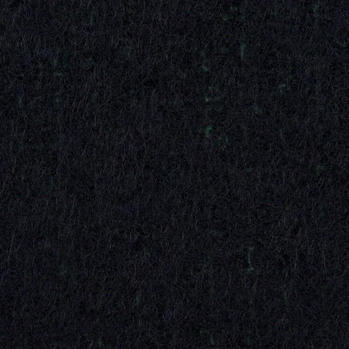 ウール×無地(ダークネイビー)×二重織 イメージ1