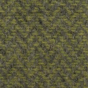 ウール×ミックス(アイビーグリーン&グレー)×かわり織