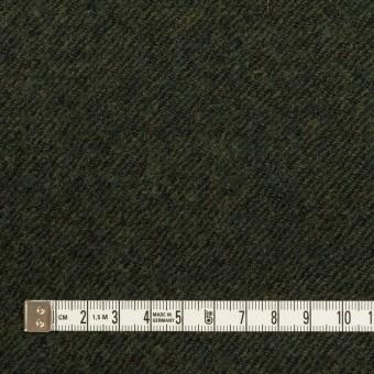 ウール×無地(ディープグリーン)×ガーゼ サムネイル4