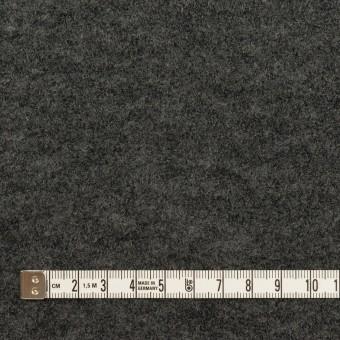 ウール&アクリル混×チェック(グレー&チャコールグレー)×Wニット サムネイル6