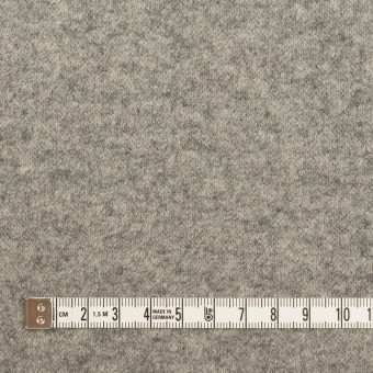 ウール×無地(グレー&チャコール)×圧縮ニット(Wフェイス) サムネイル4