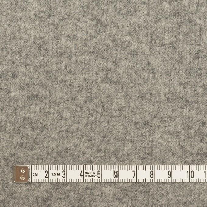 ウール×無地(グレー&チャコール)×圧縮ニット(Wフェイス) イメージ4
